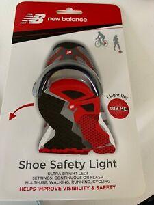 NEW BALANCE Visto Shoe Safety LED LIGHT, Improve Visibility & Safety #52025 NEW