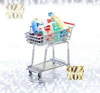 Mini Re-ment Miniature Trolley Cart | 1/12 Rement | Coles Little Shop 2 1/6 ozz