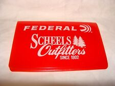 Hunting Fishing License Holder. Federal, Muddy,  Scheels Outfitters