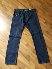 Diesel Krooley regular slim-carrot jeans size 32 32 in blue