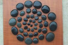 46 Piece Basalt Hot Stone Massage Rocks Starter or Student Set