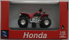 NewRay - Honda Sportrax 400 EX rot Quad 1:32 / Spur 1 Neu/OVP