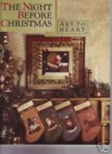 Night Before Christmas   Art to Heart  Nancy Halvorsen