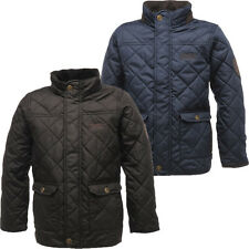 RRP £30 BOYS REGATTA QUILTED THERMO-GUARD INSULATED JACKET AGES 3-15Yrs Brsr