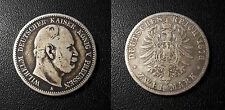 Germany - Prussia - Wilhelm I - 2 Mark 1876 - KM#506