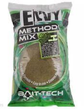 BAIT TECH ENVY 2kg METHOD GROUNDBAIT MIX FOR CARP / COARSE FISHING X 2 BAGS