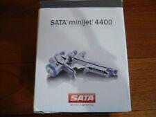 Genuine Sata minijet 4400 B HVLP Gun w/1.2sr, w/ Adam 2 dock, (satajet)