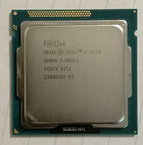 Intel Core i7-3770 - 3.4 GHz CPU Processor