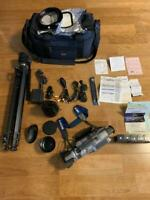 Sony Handycam DCR-VX1000 Video Camera 3CCD many accessories [operation confirmed