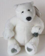 "Coca-Cola Polar Bear Plush Rare New Nwt Coke 9"" Stuffed Cavanaugh Group 1999"