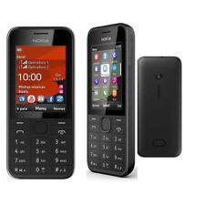 Unlocked Original Nokia 208 Unlocked 1.3MP Camera 3G Bluetooth FM Radio Phone