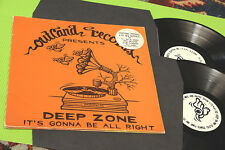 deep zone 2LP it's gonna be all right ORIGINAL PRESS GATEFOLD COVER !!!!!!!!