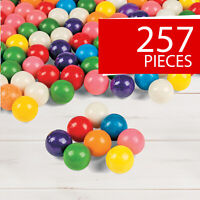 Machine-Size Gumballs - Candy - Candy Buffet - Party Favors - 257 Pieces
