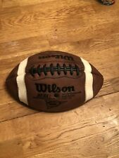 Wilson Gst 1005 Pattern Football Made In Usa Flat Does Not Currently Hold Air