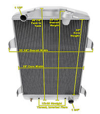 3 Row Super Champion Radiator for 1930 Chevrolet Car Chevy V8 Conversion