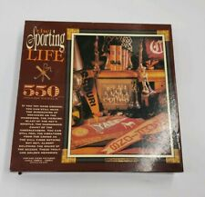 Ceaco Puzzle The Sporting Life GOLDEN MEMORIES 550 pieces Vintage Theme Yale