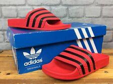 Adidas uk 4 eu 37 sandals Red Slides Sandales Garçons Filles Enfants Femme LD