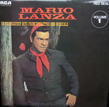 MARIO LANZA In His Greatest Hits From Operettas And Musicals Vol 1 LP RCA EX