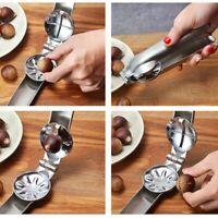 Home Creative Stainless Steel Walnut Clip Sheller Chestnut Opener Chestnut Clip