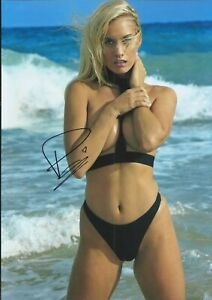 Paige Spiranac Autographed signed photo