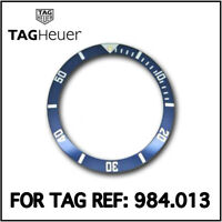 • TAG Heuer Blue Divers Bezel Insert, Swiss Made, For TAG Heuer 38mm 984.013  •