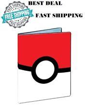 180 Pokemon Card Collector Album Protector Binder 9 Pocket Pages Sheets Holder