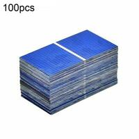 100Pcs Solar Panel Solar Cell Diy Battery Charger