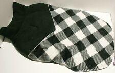"""New listing Kuoser Fleece Plaid Reflective Dog Coat Jacket Sweater - Large 17"""""""