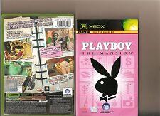 La mansión de Playboy XBOX/X Caja 360 Sim Play