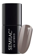 Semilac Soak Off LED/UV Hybrid Manicure Nail Gel Polish Colour Coat All COLOURS