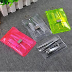 Carbon Steel Manicure Set Nail Care Clippers Scissors Tweezers Grooming Kits new