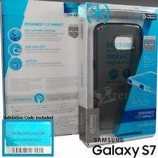 Authentic SPECK CandyShell CLEAR Case Cover for Samsung GALAXY S7 - Onyx Black