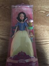 Disney Store Exclusive Princess Snow White Doll And 2 Dwarfs
