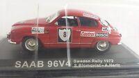 1/43 RAL035 SAAB 96V4 SWEDEN RALLY 1972S. BLOMQVIST - A. HERTZ