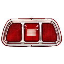 1971 1972 1973 Mustang Tail Light Lens w/ Trim Molding Each Left = Right 3643MK