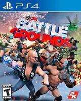 WWE 2K Games Battlegrounds -( PlayStation 4 /ps4 )Standard Edition/ Brand new.