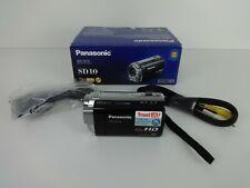 Panasonic HDC-SD10 Camcorder - Silver - Boxed Small Handheld Camera Full HD