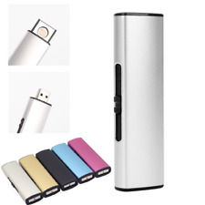 USB Coil Lighter Rechargeable Electronic Lighter Metal Cigarette Turbo Flame