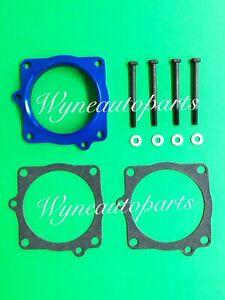 Blue Throttle Body Spacer Fits 03-08 Dodge Ram Durango Chrysler Aspen 5.7L Hemi