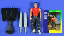 ALIENS VASQUEZ SPACE MARINES UK EXCLUSIVE 1992 KENNER