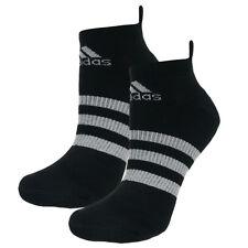 Adidas Climacool 3 Rayas Liner Socks 1 Par Negro Deportes Entrenamiento drenaje