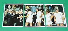 PANINI FOOTBALL EURO FOOTBALL 79 1978-1979 N°149 150 151 ANDERLECHT WINNERS CUP
