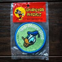 Vintage Walt Disney World ✨ Donald Duck Character Patch - NOS