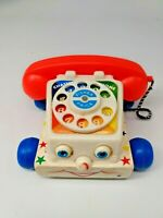 Vintage - Fisher-Price Chatter Telephone Pull Toy  - 1961