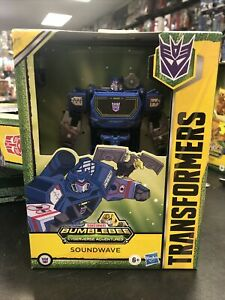 Transformers Cyberverse - Bumblebee Adventures - Deluxe Class SOUNDWAVE 2021 NEW