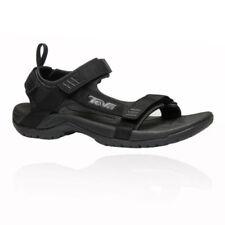 Sandali e scarpe nere Teva con velcro per il mare da uomo