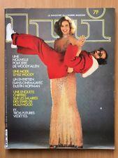 LUI French n° 193 Fev 1980 Woody ALLEN Dustin HOFFMAN HOLLYWOOD PIN UP ASLAN
