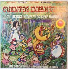 Cuentos Infantiles Blanca Nieves y Los Siete Enano Los Tres... Vol. 4 Vinyl LP