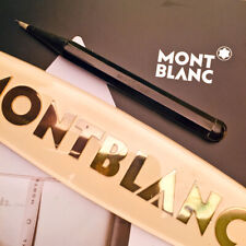 1920s MONTBLANC SIMPLO 10K SHORT EBONITE TWIST PENCIL VINTAGE MECHANICAL ANTIQUE