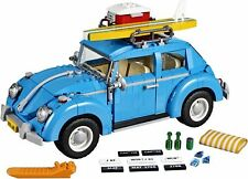 Creator Series City Car Volkswagen Beetle model Building Blocks Blue Car 1193pcs